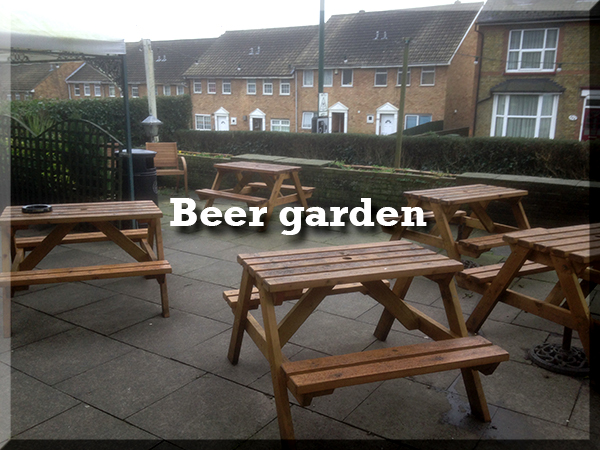 The Walnut Tree Maidstone - Beer Garden