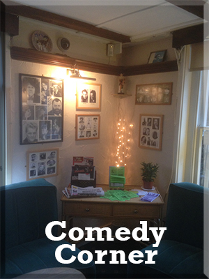 Entertainment at The Walnut Tree Maidstone - Comedy Corner